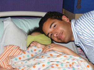 ari loving his sister