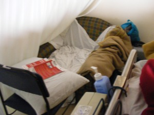 my bed at apollo icu