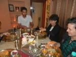 Ari Valerie and Claudia sampling Delhi Cuisine
