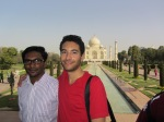 Clint and Ari in Agra