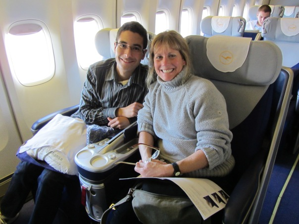 Airplane with Sheila
